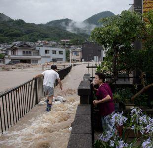 Las lluvias en Japón dejan al menos 100 muertos y desafían a los equipos de rescate