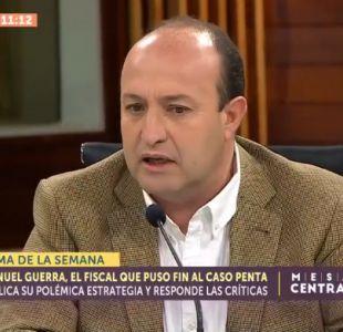[VIDEO] Fiscal Manuel Guerra sobre Caso Penta: No pude probar el cohecho