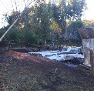Desconocidos queman centro de formación cristiana en región del Biobío