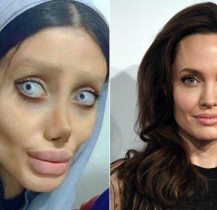 [FOTOS] La joven iraní que se obsesionó con ser igual a Angelina Jolie