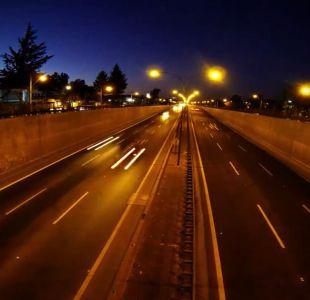 [VIDEO] Detienen a joven que jugaba a tirar piedras en autopistas