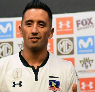 [FOTO]  Lucas Barrios utilizará dos números distintos en Copa Libertadores y el Campeonato Nacional