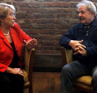 Bachelet lidera solicitud para que Lula inscriba candidatura presidencial en Brasil