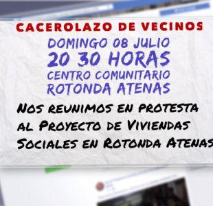 [VIDEO] El polémico cacerolazo contra viviendas sociales en Las Condes