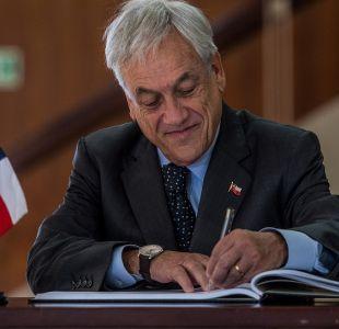 Caso SQM: Gobierno ratifica que Piñera declarará como testigo