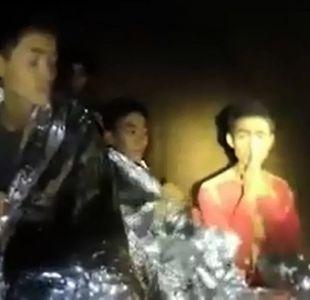 """Piñera por rescate en Tailandia: """"Han podido reencontrarse con la vida"""""""