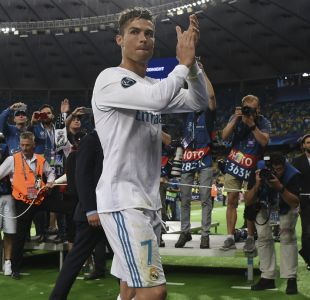 "[VIDEO] ""Gracias, Cristiano Ronaldo"": La emotiva despedida del Real Madrid a su ídolo"