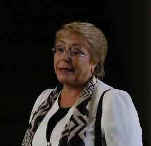 Cámara aprueba viaje de Bachelet a Brasil en medio de cuestionamientos por carta en favor de Lula