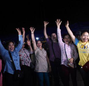 Los rescatados de la cueva tailandesa saldrán del hospital el jueves