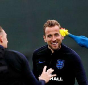 [VIDEO] El divertido entrenamiento de Inglaterra previo a la semifinal frente a Croacia