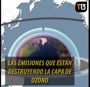 [VIDEO] Las misteriosas emisiones que están destruyendo la capa de ozono