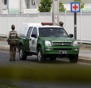 Carabineros detuvo a hombre por violación y secuestro en Cerro Navia