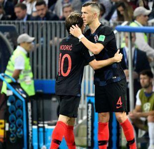 """[VIDEO] Perisic y Modric destacan el triunfo de Croacia: """"Demostrarnos nuestro carácter"""""""