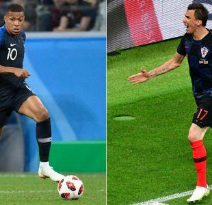 Francia versus Croacia: El camino de las selecciones hasta la final de Rusia 2018