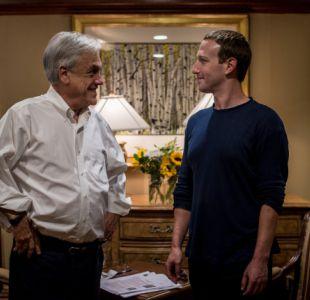 [FOTOS] El encuentro de Piñera con Mark Zuckerberg y Jeff Bezos