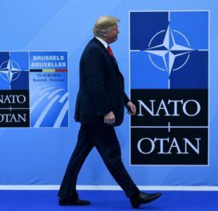 Trump en la OTAN