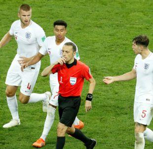 [VIDEO] Lo que no se vio: El desesperado intento de Inglaterra de empatar mientras Croacia festejaba