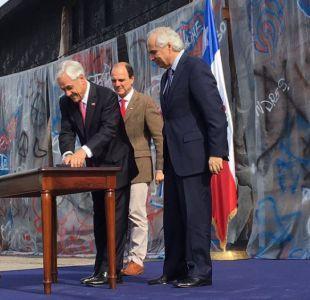 Piñera envía proyecto que promete tolerancia cero frente a conductas antisociales