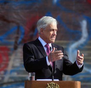 Piñera califica de un error indicación que impediría expulsión de inmigrantes