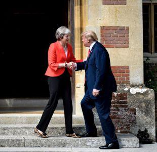 Trump en Reino Unido: La relación con Theresa May es sólida