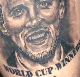 Rusia 2018: la divertida historia de los ingleses que se tatuaron prematuramente que eran campeones