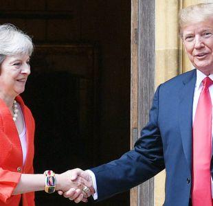 Cuatro declaraciones explosivas que hizo Trump en los primeros momento de su visita a Reino Unido