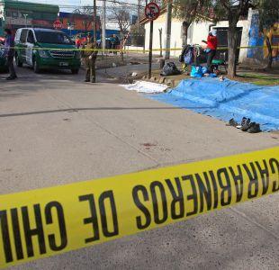 [VIDEO] Violento asalto deja dos heridos en feria de Conchalí