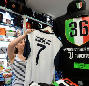Cristiano-manía: En Turín ya se venden helados y pizzas en honor a CR7