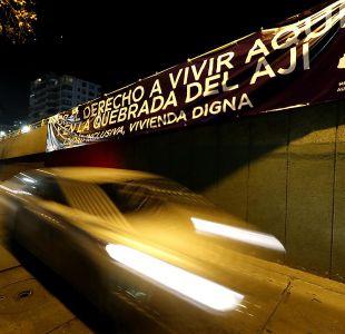 [VIDEO] Grupo de vecinos de Las Condes se manifiesta a favor de construcción de viviendas sociales