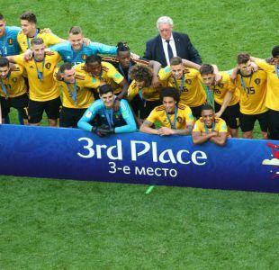 Bélgica se queda con el tercer lugar en Rusia 2018 y logra su mejor actuación en una Copa del Mundo
