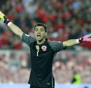[FOTO] Cristopher Toselli se cuadró con la Selección Chilena