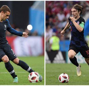 Francia vs. Croacia: Día, hora y dónde ver la gran final del Mundial de Rusia 2018