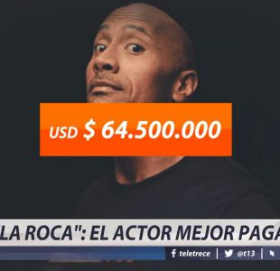 [VIDEO] La Roca: el actor mejor pagado