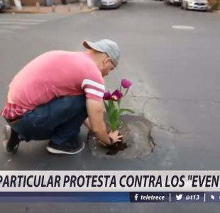 [VIDEO] Particular protesta contra los eventos