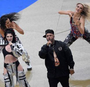 Las duras críticas de los usuarios de redes sociales a la presentación de Nicky Jam
