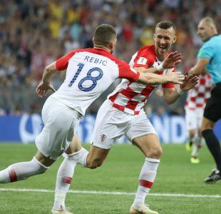 [VIDEO] El golazo de Perisic que le dio la igualdad a Croacia en la final