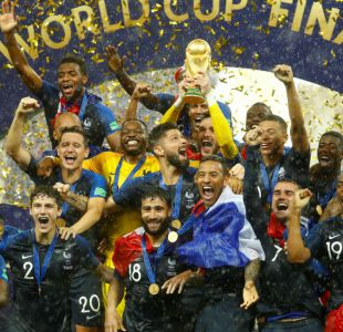 """[VIDEO] Francia campeón: Los """"Bleus"""" levantan su segunda Copa del Mundo tras conquistar Rusia 2018"""