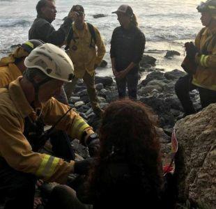El extraordinario caso de la mujer que cayó por un acantilado y fue rescatada una semana después