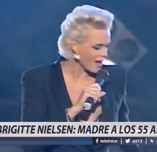 [VIDEO] Brigitte Nielsen: madre a los 55 años