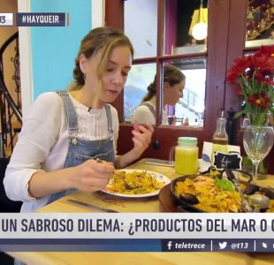 [VIDEO] #HayQueIr: Un sabroso dilema ¿productos del mar o carne?