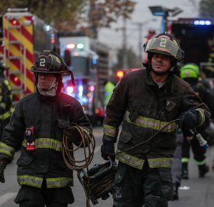 Incendio en Persa Biobío consume cerca de 30 locales comerciales