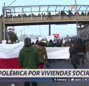 [VIDEO] Polémica por viviendas sociales
