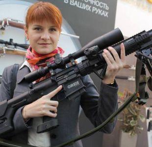 Maria Butina, la joven rusa defensora de las armas detenida en EEUU acusada de espionaje