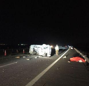 [VIDEO] Accidente en Autopista Acceso Sur deja un fallecido y desvíos en la ruta