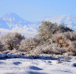 [VIDEO] Emiten alerta por fuerte viento y nevadas en cordillera de Antofagasta y Atacama