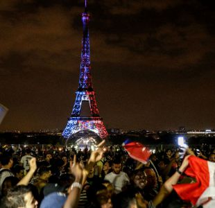 [FOTO] La falsa imagen de la Torre Eiffel pintada con la bandera de Croacia que se hizo viral