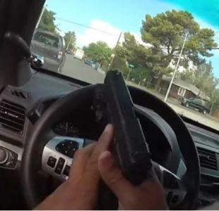 [VIDEO] El dramático registro de una persecución policial en Las Vegas