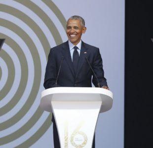 Barack Obama refuerza críticas a Trump y condena el uso de la política del miedo