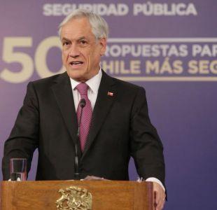 [VIDEO] Presidente Piñera anuncia creación de Consejo Nacional de Inteligencia