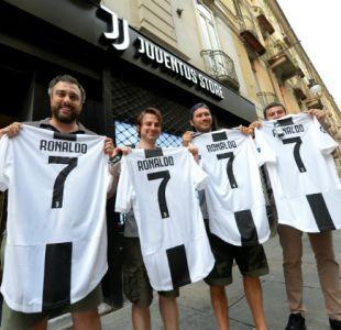 [VIDEO] La millonaria recaudación por venta de camisetas de Cristiano Ronaldo en Juventus
